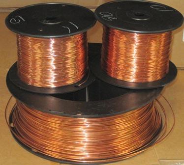 Bare Copper Plater Wire 25 lb. spool on